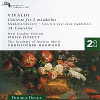 The Academy of Ancient Music, Christopher Hogwood, New London Consort – Vivaldi: 14 Concertos (for Mandolin, Flute, Trumpet, Violin,  etc.)
