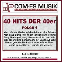 Bernd Golonsky – 40 Hits der 40er, Folge 1
