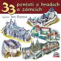 Přední strana obalu CD 33 pověstí o hradech a zámcích