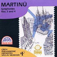 Česká filharmonie/Václav Neumann – Martinů: Symfonie č. 3, 4