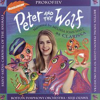Seiji Ozawa, Garrick Ohlsson, Camille Saint-Saens, John Browning, Boston Symphony Orchestra, Melissa Joan Hart, Jules Eskin – Peter and the Wolf; Carnival of the Animals; Young Person's Guide to the Orchestra