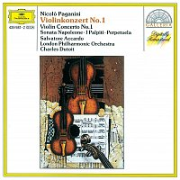 Salvatore Accardo, London Philharmonic Orchestra, Charles Dutoit – Paganini: Violin Concerto No. 1 · Sonata Napoleone · I Palpiti · Perpetuela