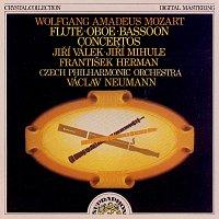 Jiří Válek, Jiří Mihule, František Herman, Česká filharmonie, Václav Neumann – Mozart: Koncerty pro flétnu, hoboj a fagot