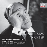 """Přední strana obalu CD Beethoven: Sonáty pro klavír č. 7, 12 a 23 """"Appassionata"""". Russian Masters"""
