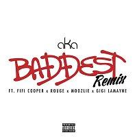 Přední strana obalu CD Baddest (Remix)