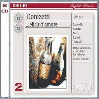 Katia Ricciarelli, José Carreras, Leo Nucci, Susanna Rigacci, Domenico Trimarchi – Donizetti: L'Elisir d'amore [2 CDs]