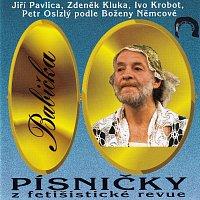 Přední strana obalu CD Babička - písničky z fetišistické revue