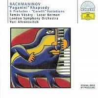 "Tamás Vásáry, Yuri Ahronovitch, Lazar Berman – Rachmaninov: ""Paganini"" Rhapsody; 6 Preludes; ""Corelli"" Variations"