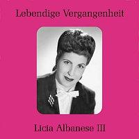 Licia Albanese – Licia Albanese III