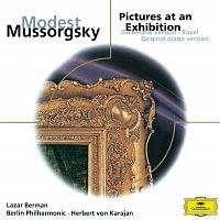 Lazar Berman, Berliner Philharmoniker, Herbert von Karajan – Mussorgsky: Pictures at an Exhibition (Orch. & Piano Versions)