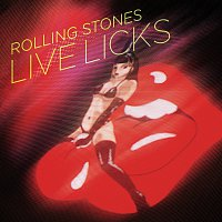 Přední strana obalu CD Live Licks [2009 Re-Mastered Digital Version]