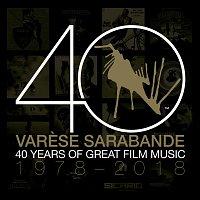 Přední strana obalu CD Varese Sarabande: 40 Years of Great Film Music 1978-2018