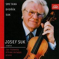 Josef Suk, Jan Panenka, Alfréd Holeček – Smetana, Dvořák & Suk: Skladby pro housle a klavír