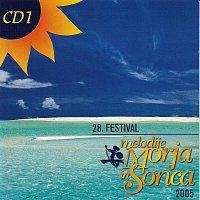 Přední strana obalu CD 28. FESTIVAL MELODIJE MORJA IN SONCA 2005