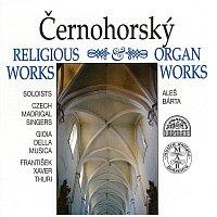 Přední strana obalu CD Černohorský: Vokální skladby, Varhanní skladby