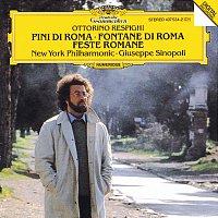 Přední strana obalu CD Respighi: Pini di Roma; Fontane di Roma; Feste Romane