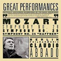 "Claudio Abbado, Berliner Philharmoniker, Wolfgang Amadeus Mozart – Mozart: Symphonies Nos. 28, 29 & 35 ""Haffner"""