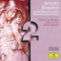 Berliner Philharmoniker, Herbert von Karajan, Wiener Philharmoniker, James Levine – Mozart: Requiem; Great Mass in C minor; Missa brevis in C major