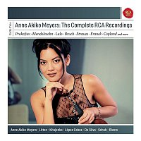 Přední strana obalu CD Anne Akiko Meyers - The Complete RCA Recordings