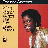 Ernestine Anderson – When The Sun Goes Down
