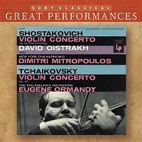 David Oistrakh, Dimitri Mitropoulos, Dmitri Shostakovich, New York Philharmonic Orchestra – Shostakovich & Tchaikovsky: Violin Concertos [Great Performances]