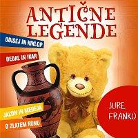 Přední strana obalu CD Antične legende