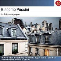 Plácido Domingo, Montserrat Caballé, Sir Georg Solti, Giacomo Puccini – Giacomo Puccini: La Boheme - (Highlights)  - Sony Classical Masters