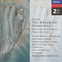 Přední strana obalu CD Elgar: The Dream of Gerontius/Delius: Sea Drift/Holst: Hymn of Jesus