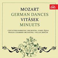 Česká filharmonie, Karel Šejna, Pražský komorní orchestr, Václav Jiráček – Mozart: Německé tance, Vitásek: Menuety