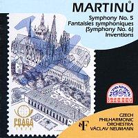 Česká filharmonie/Václav Neumann – Martinů: Symfonie č. 5, 6, Invence