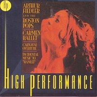 """Arthur Fiedler – Carmen Ballet, Carnaval Overture, Incidental Music To """"Hamlet"""""""