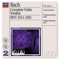 Arthur Grumiaux, Christiane Jaccottet, Philippe Mermoud – Bach, J.S.: Complete Violin Sonatas