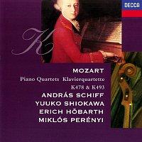 András Schiff, Yuuko Shiokawa, Miklós Perényi, Erich Hobarth – Mozart: Piano Quartets Nos. 1 & 2