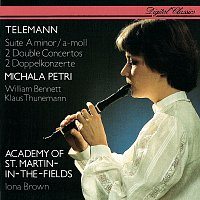 Michala Petri, William Bennett, Klaus Thunemann, Iona Brown – Telemann: Recorder Suite; 2 Double Concertos