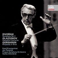 Přední strana obalu CD Dvořák: Symfonie č. 3 - Glazunov: Koncert pro saxofon a orchestr - Gershvin: Rhapsody in Blue