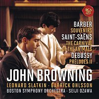 John Browning, Claude Debussy – Barber: Souvenirs, Op. 28 & Saint-Saens: The Carnival of the Animals & Debussy: Préludes, Book 2, L. 123
