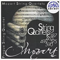 Přední strana obalu CD Mozart: Smyčcové kvartety