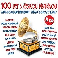 Přední strana obalu CD 100 let s českou písničkou aneb Populární interpreti zpívají dobové šlágry