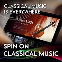 Přední strana obalu CD Spin On Classical Music 1 - Classical Music Is Everywhere