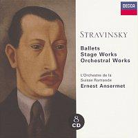 Přední strana obalu CD Stravinsky: Ballets/Stage Works/Orchestral Works