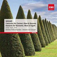 Gunther Piesk, Herbert von Karajan, Berliner Philharmoniker – Mozart: Concertos for Clarinet, Oboe & Bassoon - Konzerte fur Klarinette, Oboe & Fagott