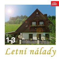 Přední strana obalu CD Letní nálady 1-3