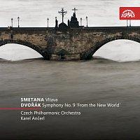 """Přední strana obalu CD Smetana: Vltava - Dvořák: Symfonie č. 9 e moll """"Z nového světa"""""""
