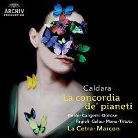 Přední strana obalu CD Caldara: La concordia de' pianeti