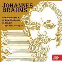 Josef Suk, André Navarra, Česká filharmonie, Karel Ančerl – Brahms: Koncert pro housle, violoncello a orchestr a moll, Tragická předehra