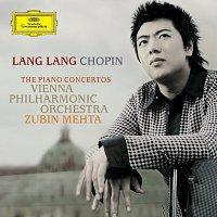 Přední strana obalu CD Chopin: The Piano Concertos