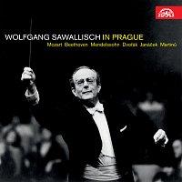 Přední strana obalu CD Wolfgang Sawallisch in Prague