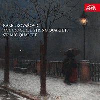 Přední strana obalu CD Kovařovic: Smyčcové kvartety - komplet