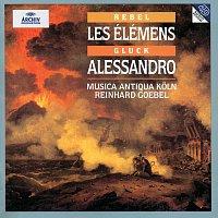 Přední strana obalu CD Rebel: Les  Élémens / Telemann: Sonata e-Moll / Gluck: Alessandro