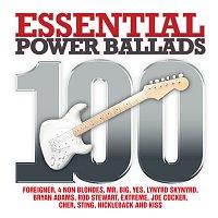 Přední strana obalu CD 100 Essential Power Ballads